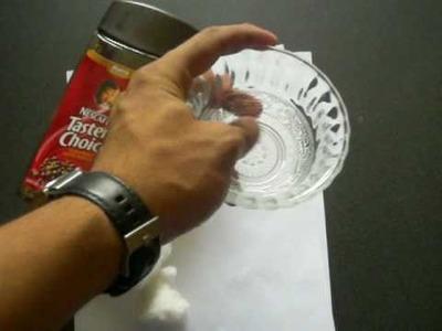 Cómo hacer hojas de café para cartas, pergaminos, etc.