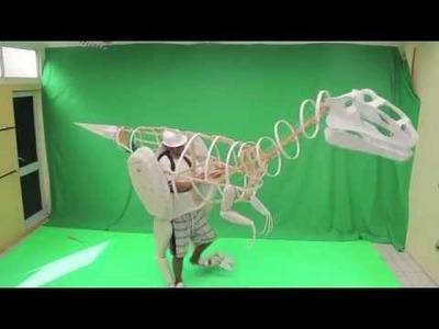 Como hacer un dinosaurio mecánico