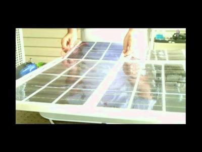 Como hacer un panel solar casero - Como hacer un panel solar en casa - panel solar para casa.