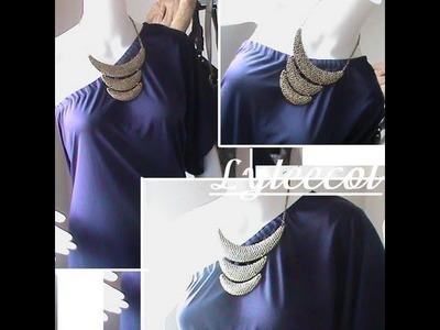 Como hacer Vestido recto de una manga