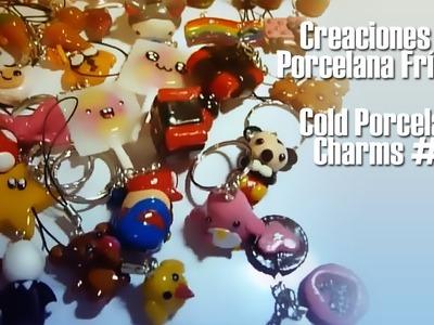 Creaciones en Porcelana Fría #1. Cold Porcelain Charms #1