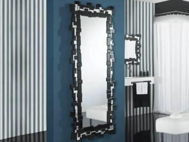 Decoracion de interiores espejos modernos de cristal for Espejos modernos cristal