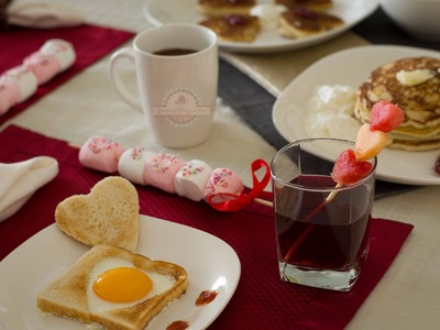 Desayuno Romántico  - Desayuno para Enamorar