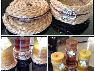 DIY-Base Para Velas o Vasos-Manualidades-Nuestracasa2013