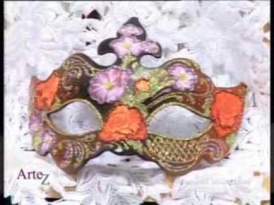 El arte de las máscaras venecianas