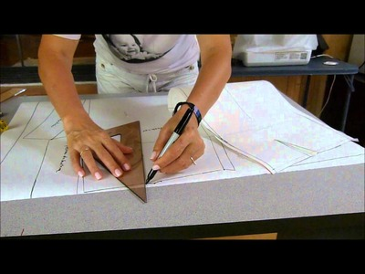 El costurero de stella- Plano de corte de la falda
