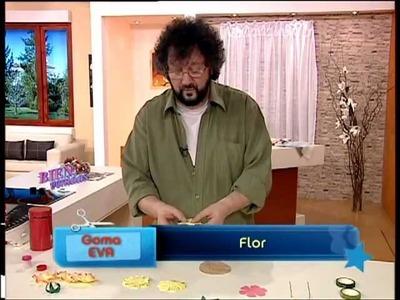 Jorge Rubicce - Bienvenidas TV - Flor en Goma Eva, un Margaritón