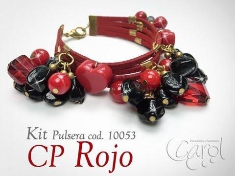 KIT 10053 Kit pulsera CP rojo