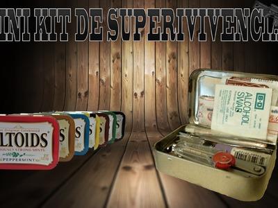 Mini kit de supervivencia en una lata de mentas (EDC en espanol)