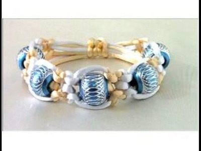 Pulseras fáciles nudos macramé bracelets