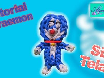♥ Tutorial: Doraemon de gomitas (sin telar) ♥