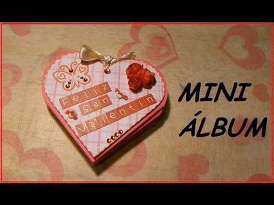 Tutorial: Mini mini álbum de corazón (SAN VALENTIN)