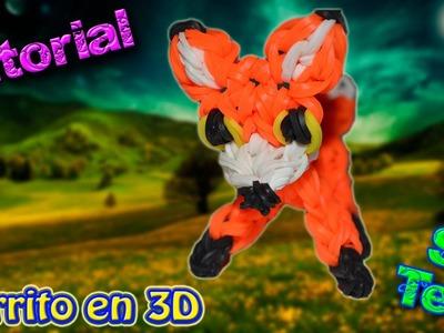 ♥ Tutorial: Zorrito de gomitas en 3D (sin telar) ♥