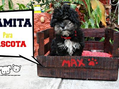 Camita para mascotas .DIY MaxCota-♥Angy