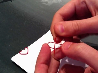 Clips con forma de corazón
