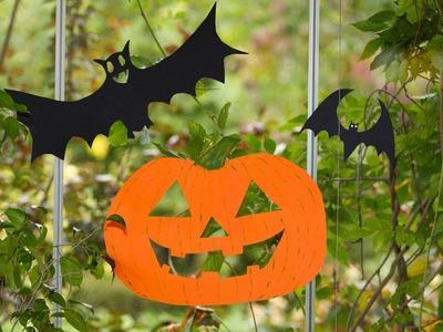 Como hacer Calabazas Halloween para Ventana o Arbol con Javier Moyano