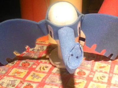 Como Hacer Gorro de Elefante de Goma Espuma