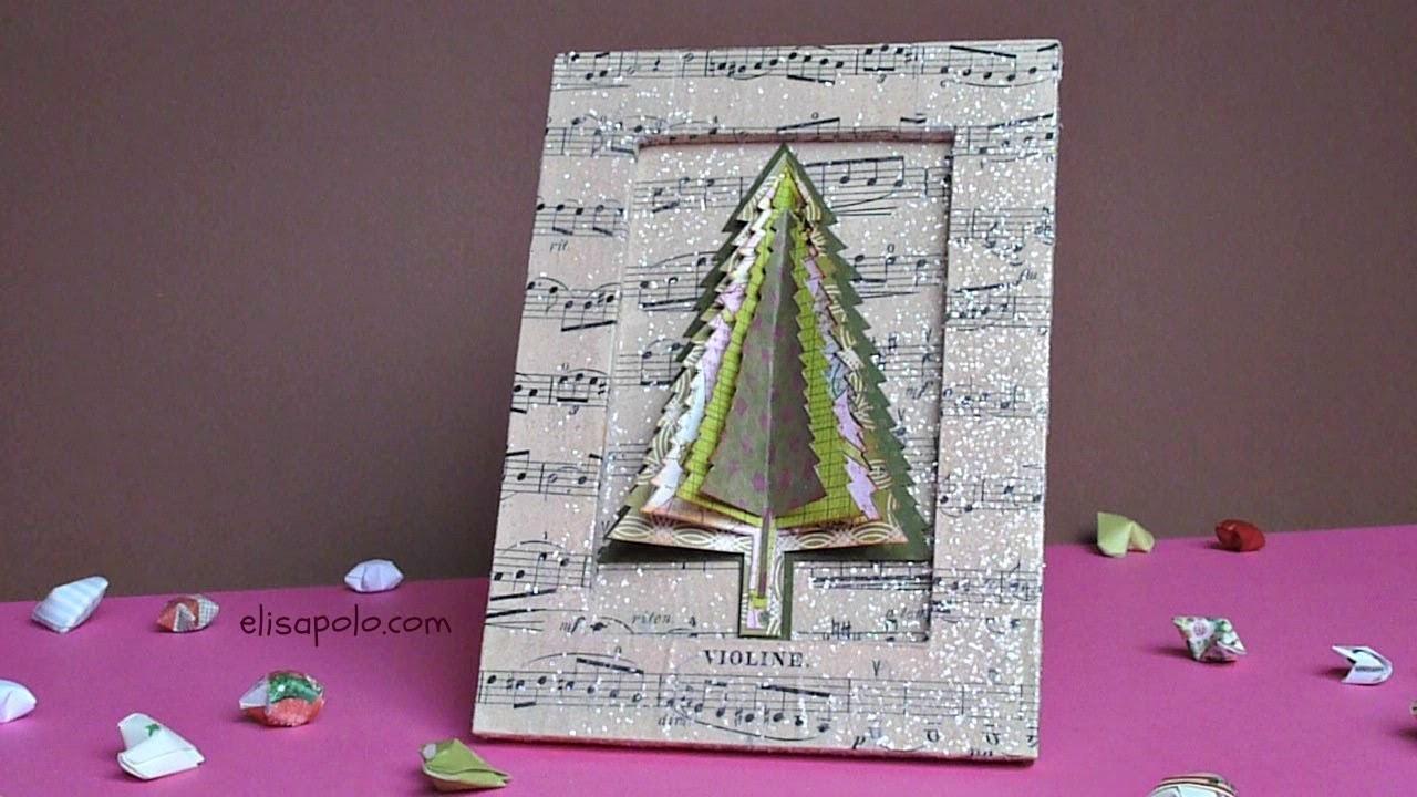 DIY Árbol de Navidad Scrap, Scrap Christmas Tree