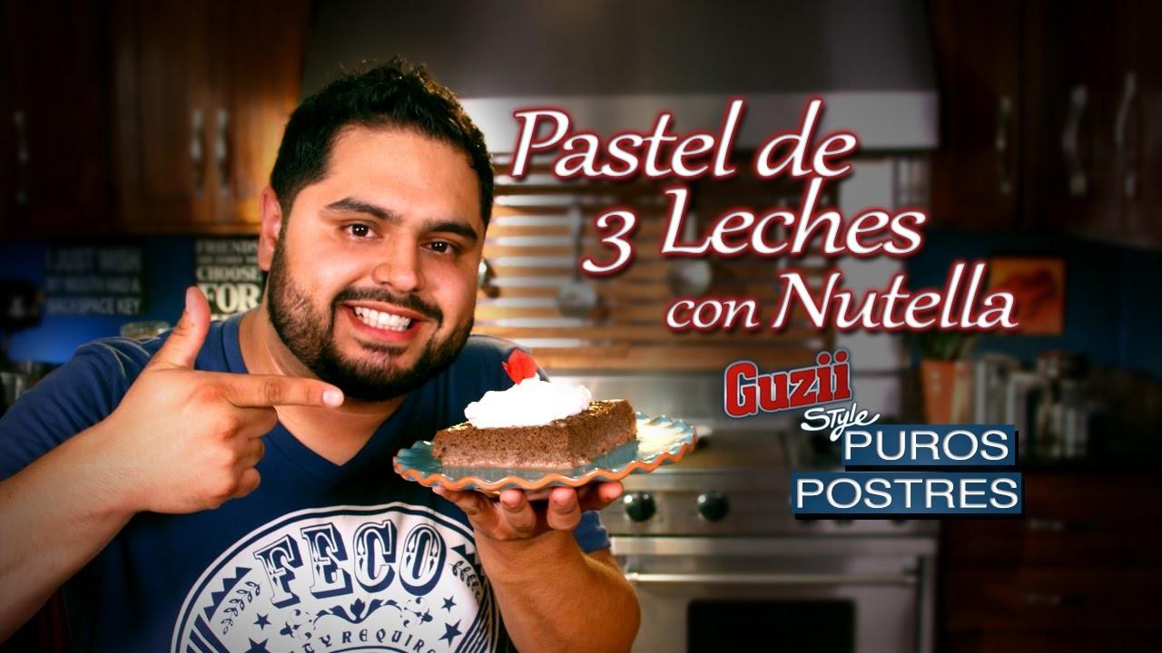 Guzii Style - Pastel de Tres Leches con Nutella