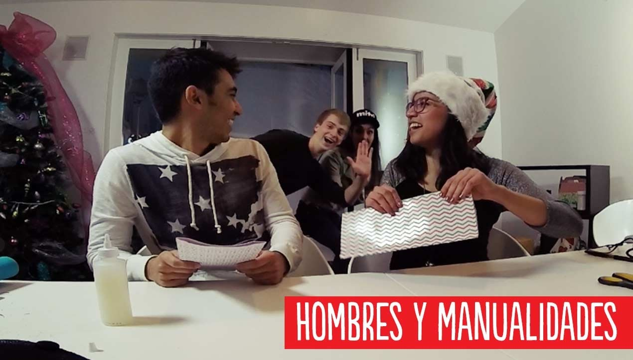 Hombres y manualidades ¡pfff! Sticky Tech en #MituHolidayHouse