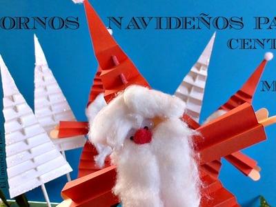 Manualidades para Navidad,Cómo hacer un Papá Noel