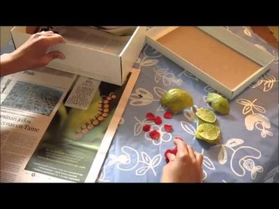 Método Fácil y  Natural de Secado de hojas,pétalos,frutas - Natural Dissected