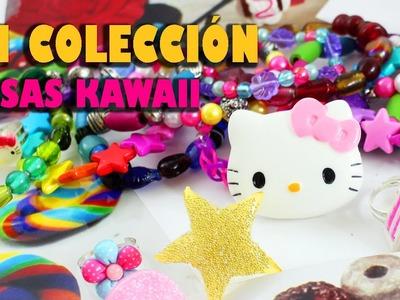 Mi Mini Colección de Accessorios y cosas Kawaii DIY echas por mi