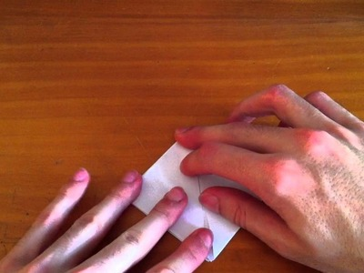 Origami: cómo hacer flor de papel - aprender a hacer una flor de papel con técnica de origami