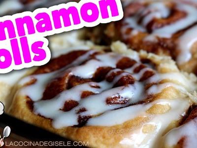 Receta Cinnamon Rolls - Roles de Canela fácil