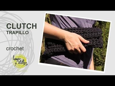 Tutorial Clutch o Bolso Fácil Principiantes a Crochet o Ganchillo en Español
