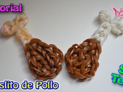 ♥ Tutorial Fácil: Muslito de Pollo de gomitas (sin telar) ♥
