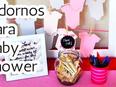 40 Adornos para decorar tu Baby shower HD