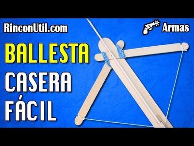 Ballesta Casera Fácil | Armas Caseras Fáciles