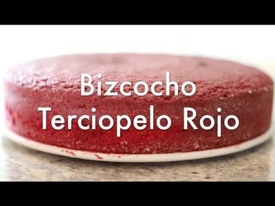 Bizcocho Red Velvet - Terciopelo Rojo