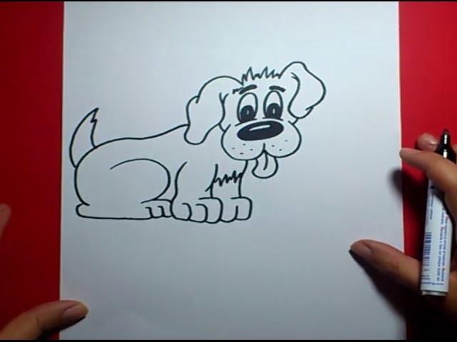 Como dibujar un perro paso a paso 17 | How to draw a dog 17