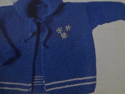 Como hacer chaqueta para bebé