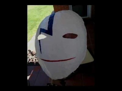 Cómo hacer la máscara de Hei, de Darker than Black