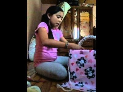 Como hacer una cuna canasto para baby alive ● ●