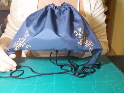 Cómo hacer una mochila con tela de paraguas  | facilisimo.com