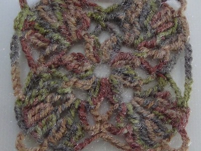 Como Tejer paso a paso Cuadro Multiusos a crochet