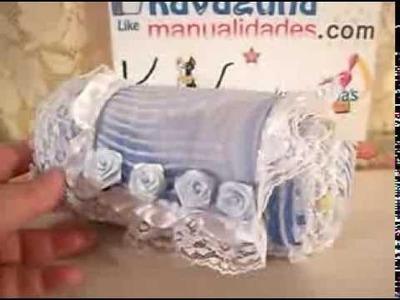 DIY Cómo hacer un bolso para fiesta reciclando