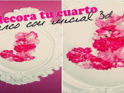 ♥ DIY ♥ ¡¡¡DECORA TU CUARTO!!! (Marco con tu inicial en 3D)