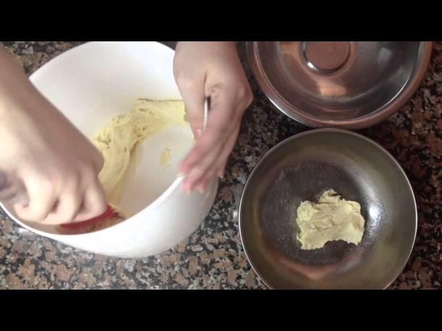 Hacer galletas rápidamente - Galletas de chocolate