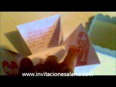 Invitaciones Alanis - Invitacion XV Años Cajita