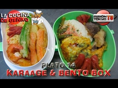 Karaage & Bento box - Plato 14 - La cocina de Genko [Mision Tokyo TV]