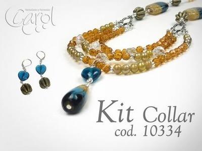 KIT 10334 Kit collar cristal chino x und