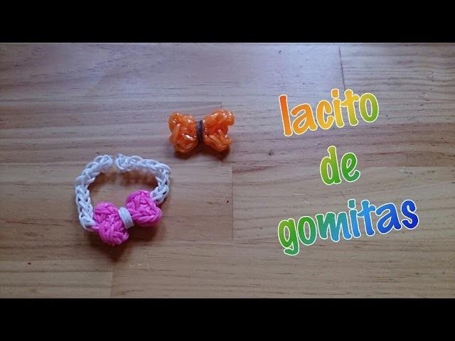 Lacito de gomitas con telar