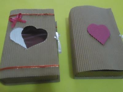 Libro de papel corrugado (Caja de regalo)