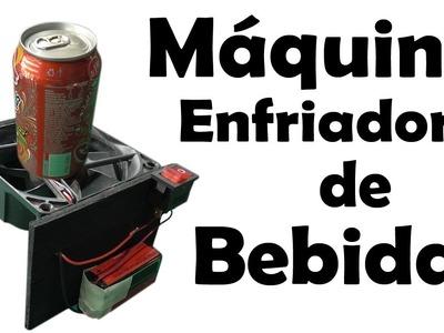Máquina Casera para Enfriar Bebidas Calientes - Muy fácil de hacer