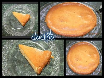 Pastel de elote con queso